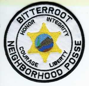 Bitterroot posse patch 5x
