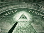 Masonic All Seeing Eye On One Dollar Bill