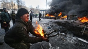 Kiev: praetorian guards VS the people