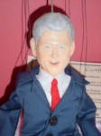 bill clinton puppet