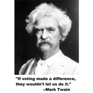 if voting made any difference