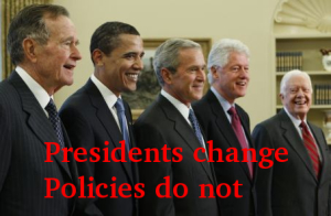 presidents change policies do not