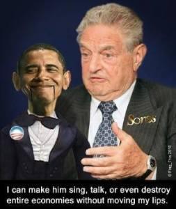 Soros' Obama puppet