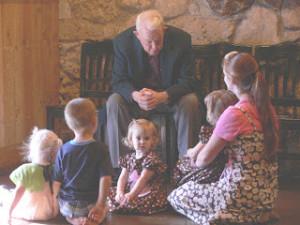 grandpa telling stories