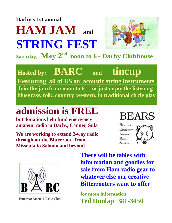 Ham Jam and String Fest