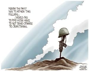honoring the troops