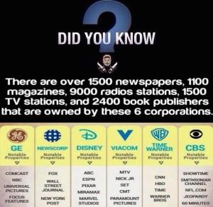 1500 media outlets centralized