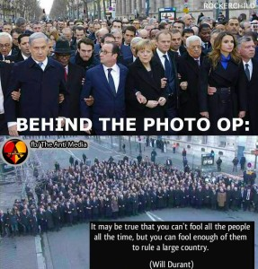 French photo op exposed