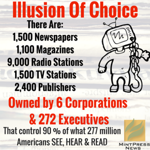 the illusion of a free press