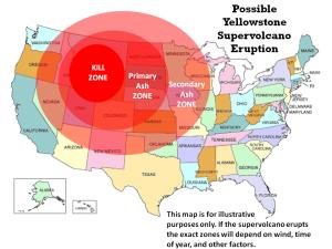 yellowstone eruption