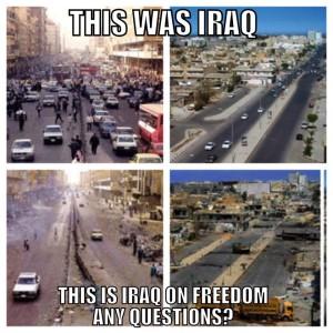 ah yes, spreading freedom