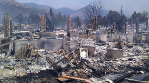fire devastaton