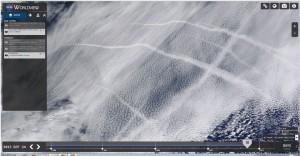 satellite view of geoengineering