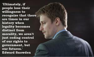 Snowden legality vs morality