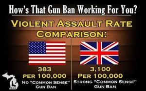 violent assault comparison