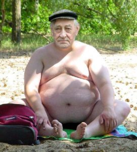 old knudsen is a fat man